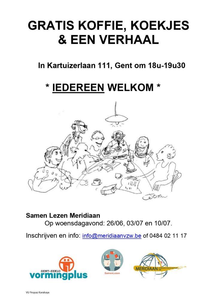 Samen Lezen Op 26 06 03 07 En 10 07 2019 Meridiaan Vzw